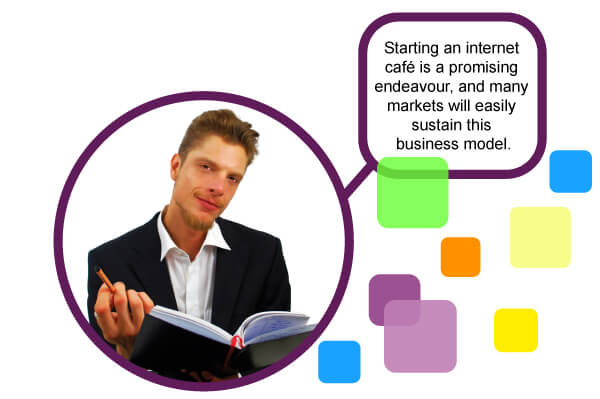 starting internet cafe business plan Javanet is a start-up business that will provide a unique forum for communication and entertainment through the medium of the internet edit this internet cafe business plan business plan to fit your business.