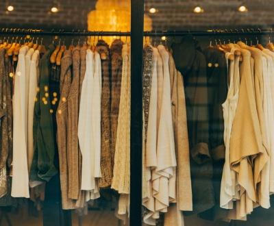 Kleidung will vermarktet sein